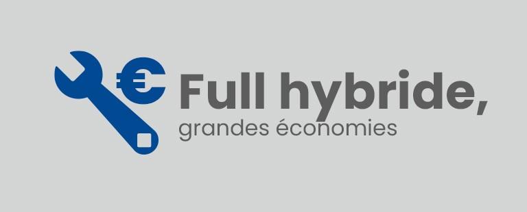 Full hybride, grandes économies