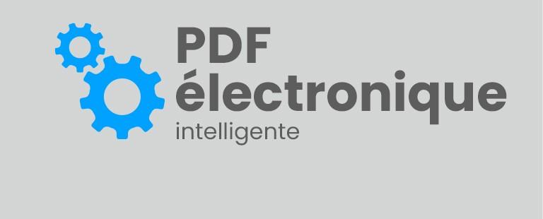 PDF électronique intelligente