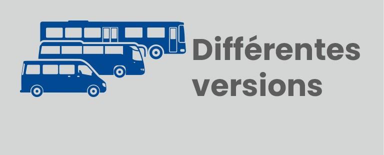 Différentes versions